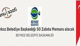 Beykoz Belediyesi 50 Zabıta Memuru Personel Alımı
