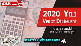 Vergi Dilimi Nedir? Güncel Vergi Dilimi Nasıl Hesaplanır? İşçiler ve Memurların 2020 vergi dilimleri ne kadar?