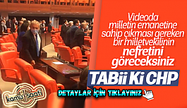 Meclis sıralarına zarar veren CHP'li...