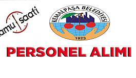 Kemalpaşa Belediyesi Personel Alımı,...