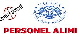 Konya Şehir Hizmetleri 107 İşçi Personel...