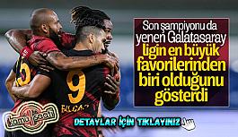 Süper Lig'in 2. haftasında Galatasaray...