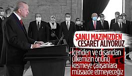 Cumhurbaşkanı Erdoğan: Saldırılar mücadele...