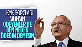 Şok! Kemal Kılıçdaroğlu: KYK borçları...