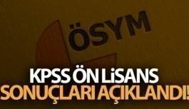 2020 KPSS Ön Lisans sonuçları açıklandı!