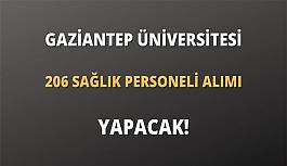 Gaziantep Üniversitesi sözleşmeli 206...