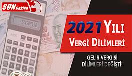 Memurların 2021 vergi dilimleri ne kadar? Vergi Dilimi Nedir?