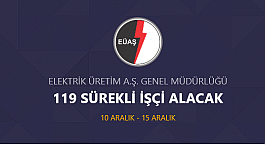 EÜAŞ Genel Müdürlüğü 150 DAİMİ...