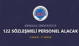 Kırıkkale Üniversite hastanesi 122 personel...
