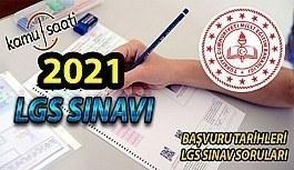 2021 LGS Sınavı Ne zaman? MEB LGS Sınavı Başvuru Tarihleri Belli Oldu mu? Başvurular ne zaman yapılacak ?