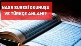 Nasr Suresi Arapça okunuşu ve Türkçe...