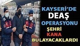 Son dakika... Kayseri'de DEAŞ operasyonu: 3 gözaltı ŞEHRİ KANA BULAYACAKLARDI