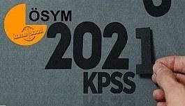 2021 KPSS Başvuru yapacaklar dikkat! ÖSYM sınav takvimi açıklandı