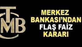 Merkez Bankası'ndan şok faiz açıklaması:...