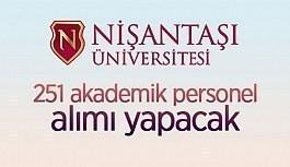 Nişantaşı Üniversitesi 251 öğretim...
