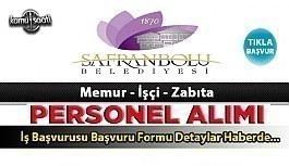 Safranbolu Belediye Başkanlığı 8 zabıta...