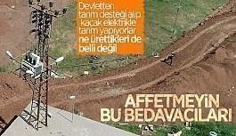 Diyarbakır'da kaçak kullanımı tespit...