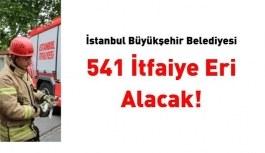 İstanbul Büyükşehir Belediyesi 541 itfaiye...