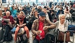 Almanya'ya giden yolcular için karantina...