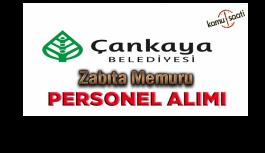 Ankara Çankaya Belediyesi 80 zabıta memuru...