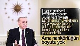 Cumhurbaşkanı Erdoğan'dan canlı...