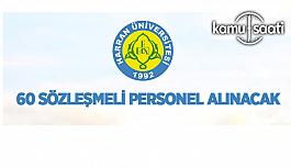 Harran Üniversitesi 60 Sözleşmeli Personel...