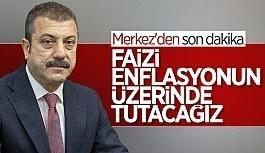 Şahap Kavcıoğlu: Politika faizini enflasyonun...
