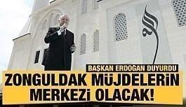 Son dakika: Cumhurbaşkanı Erdoğan: Zonguldak...