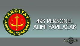 Yargıtay Başkanlığı 493 personel alımı yapacak