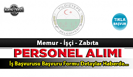 Yıldıztepe Belediyesi Personel Alımı İş ilanları ve Başvuru Formu