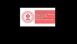 Kültür ve Turizm Bakanlığı 43 işçi...