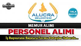 Giresun Alucra Belediyesi personel alımı...