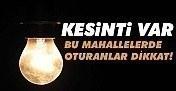 2 Mart Perşembe günü İstanbul'un 6 ilçesinde elektrik kesilecek