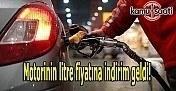 Motorinin litre fiyatında indirim yapıldı