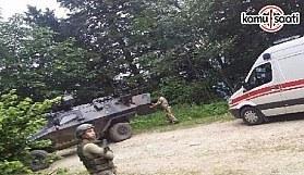 Trabzon Maçka'da askere bombalı saldırı