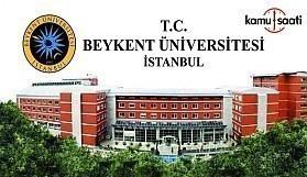 Beykent Üniversitesi Tıp Fakültesi Eğitim-Öğretim ve Sınav Yönetmeliği