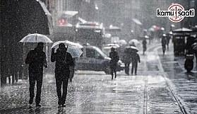 Yeni haftada serin ve yağışlı hava etkili olacak