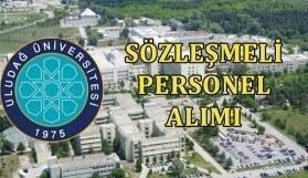 Uludağ Üniversitesi sözleşmeli personel alımı yapacak