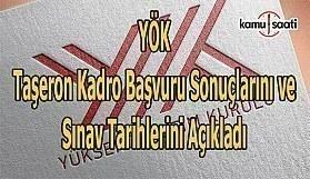 YÖK'ten Hizmet Alımı Sözleşmesi kapsamında çalıştırılan işçilerin daimi işçi kadrolarına alınmasına dair duyuru