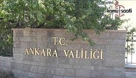 18 Mart 2018 Pazar Ankara'da kapatılacak yollar