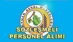 Orman Genel Müdürlüğü Sözleşmeli Personel Alım İlanı - 20 Nisan 2018
