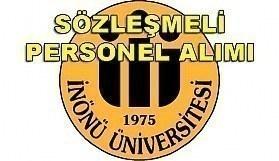 İnönü Üniversitesi sözleşmeli personel alımı - 18 Nisan 2018