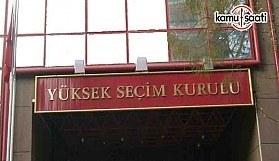 YSK'den 'seçim takvimi' açıklaması