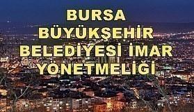 Bursa Büyükşehir Belediyesi İmar Yönetmeliği