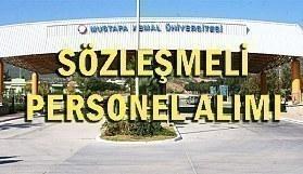 Hatay Mustafa Kemal Üniversitesi 61 Sözleşmeli Personel Alım İlanı - 18 Haziran 2018