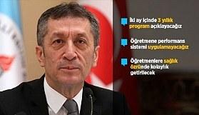 Milli Eğitim Bakanı Selçuk: 3 yıllık bir program açıklayacağız
