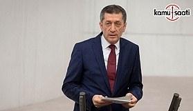 MEB Bakanı Ziya Selçuk TBMM'de soruları cevapladı