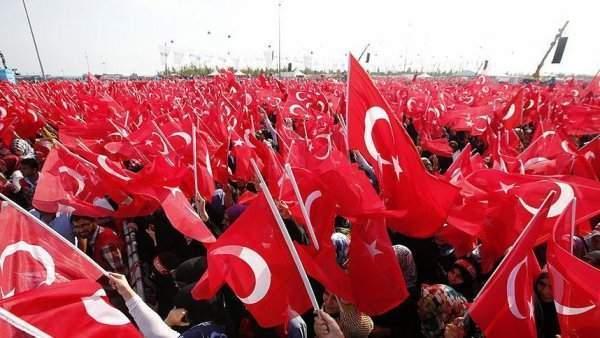 Yenikapı 'da Teröre Karşı Tek Nefes
