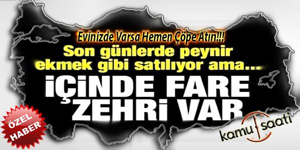Fare Zehri Var Acil Çöpe Atın..