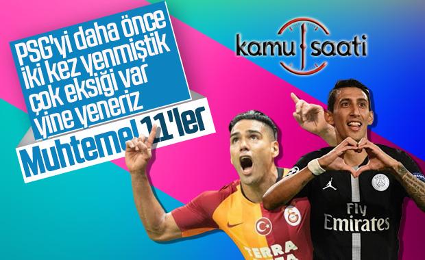 Galatasaray-PSG maçının muhtemel 11'leri